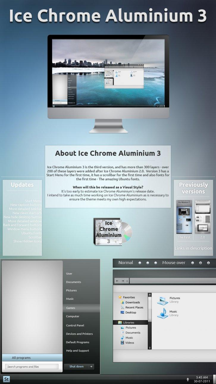 Ice Chrome Aluminium 3