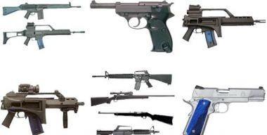 Guns & Pistols Icons