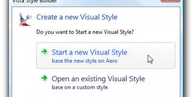 Windows Style Builder