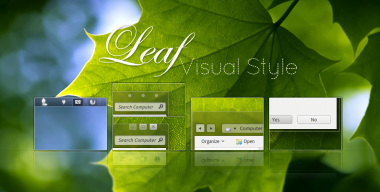 Leaf Visual Style for Windows7