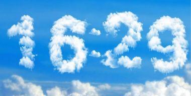 Часы-облака