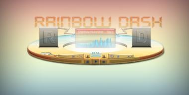 Rainbow Dash - Xion Skin