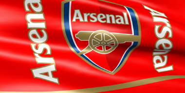 Флаг футбольного клуба Арсенал