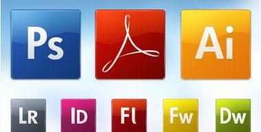 Adobe CS3 icons