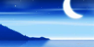Мягкий лунный свет