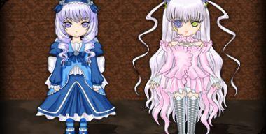 Anime girls, by TSG 2
