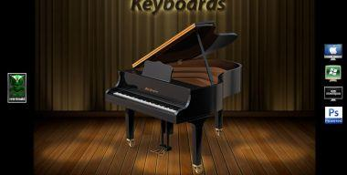 GBInstruments Series Keyboards