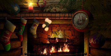 Рождество у камина