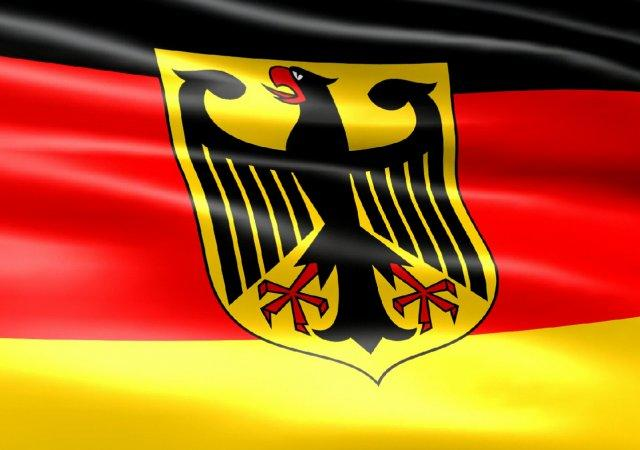 Флаг Германии с гербом 1.0