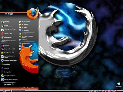 Firefox visual style