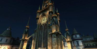 Башня c часами