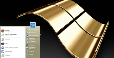 Gold style for Windows XP