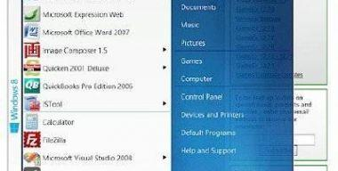 Spesoft Free Windows 8 Start Menu 1.1