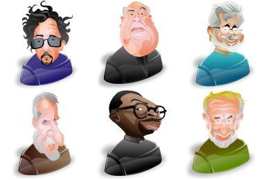 Film Directors Icons
