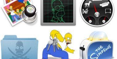 Simpsons 3 Icons