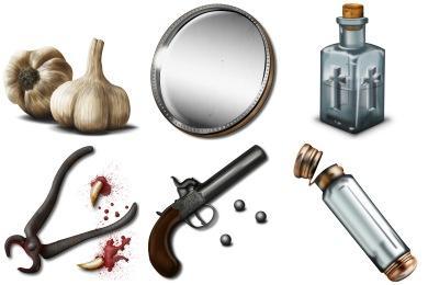 Vampire Hunter Icons