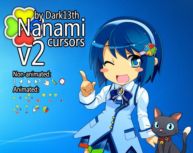 Nanami cursors