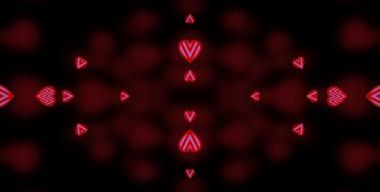 Valentine Kaleidoscope 3dcursors