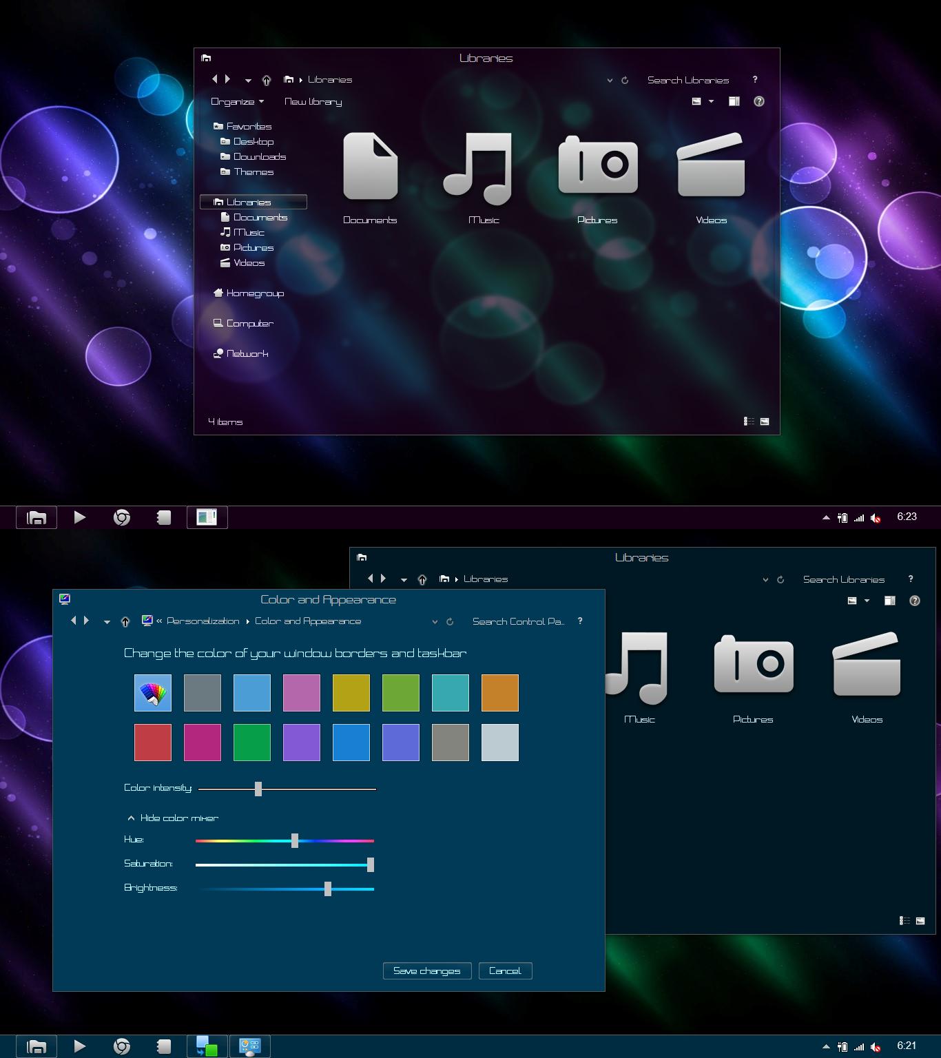 тема для Windows 8