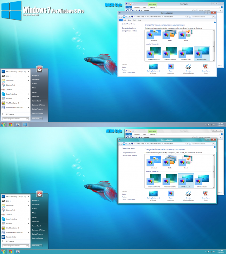 Windows 7 Vs v3