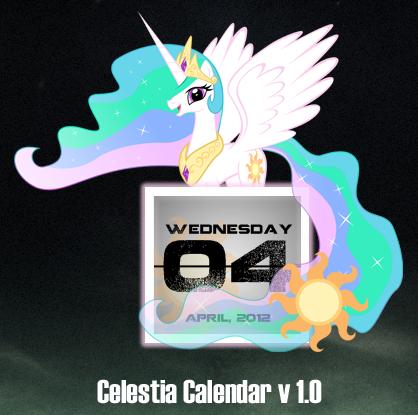 Celestia Calendar V1.0