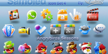 Samoled icon set 4