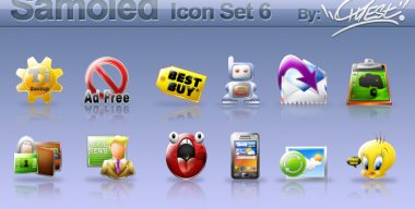 Samoled icon set 6