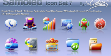Samoled icon set 7