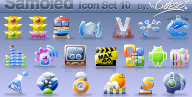 Samoled icon set 10