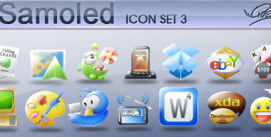 Samoled icons Set 3
