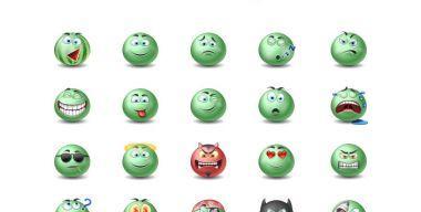 Green Emotiсons