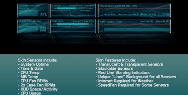 Rainmeter Skin ISM5 v1.0