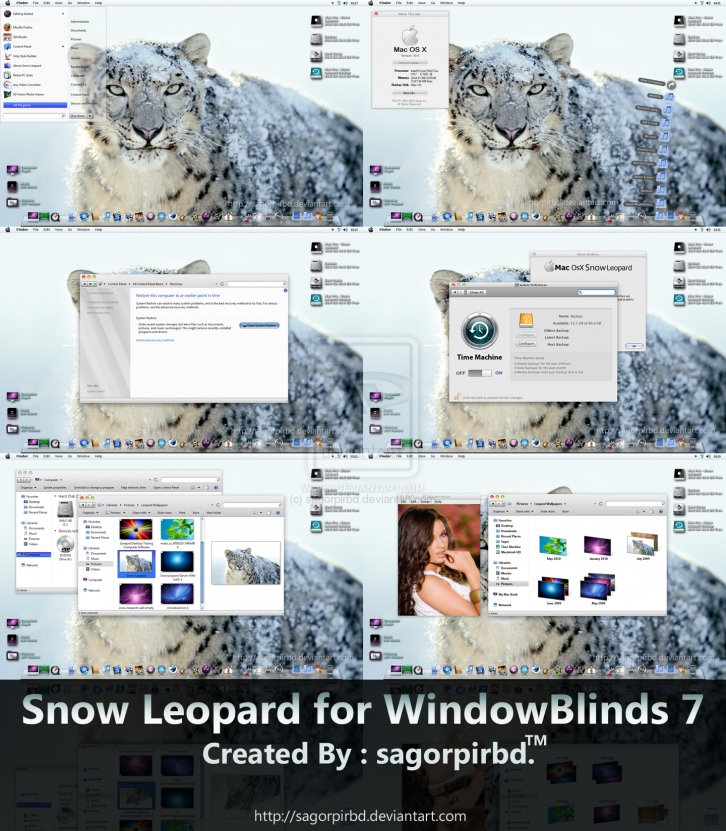 Snow Leopard for WindowBlind 7