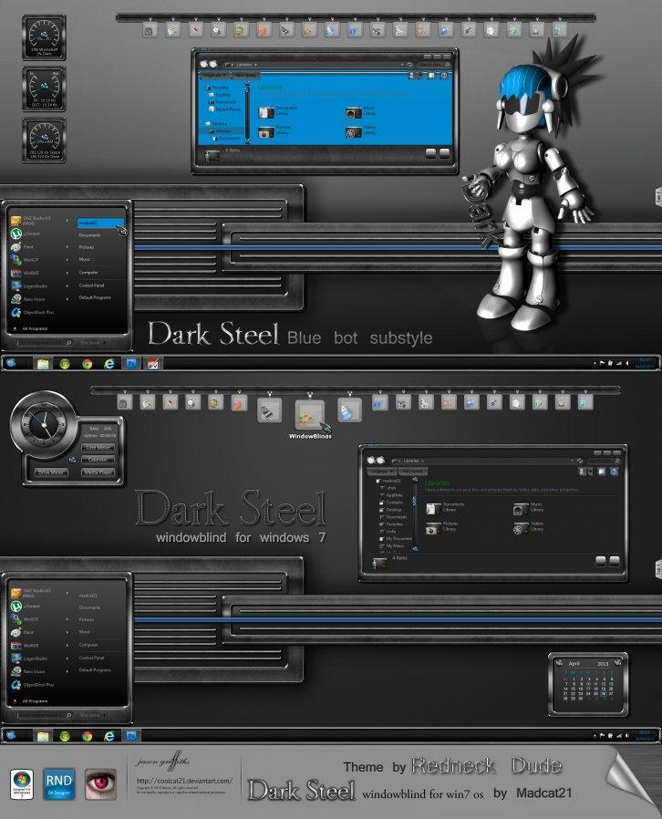 Dark steel wb