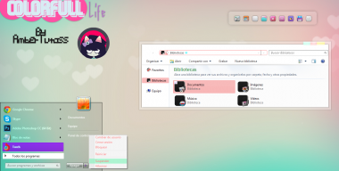 Colorfull life for Windows 7