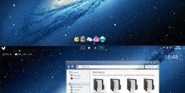 Screenshot GalaxxyBlue