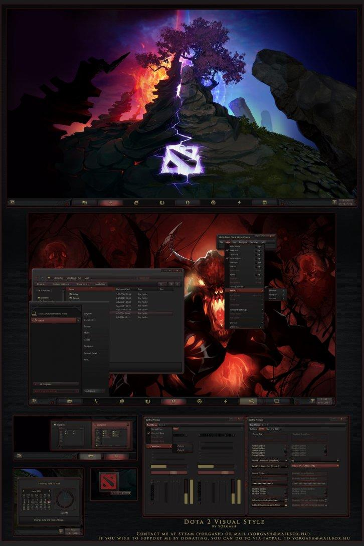 Dota 2 Windows Desktop