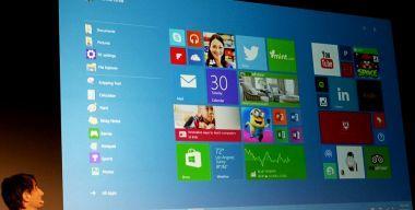 Встречаем новую Windows 10