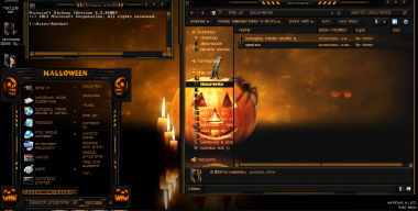 Windows 8.1 theme Halloween