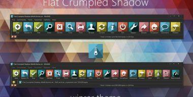 Flat Crumpled Shadow