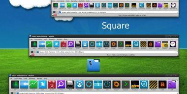 Square WinRAR theme