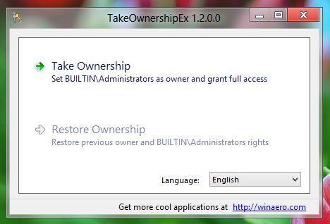 Как получить доступ к системным файлам