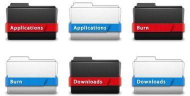 Ribbon Folders