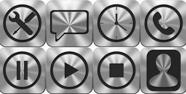 Phone and Multimedia Icons
