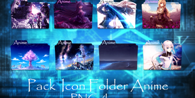 Pack Icon Folder Anime