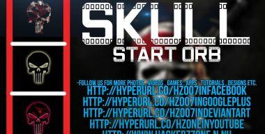 Skull Start Orb-Hackerz Zone