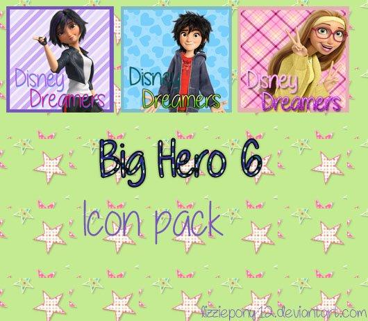 Big hero 6 icon pack