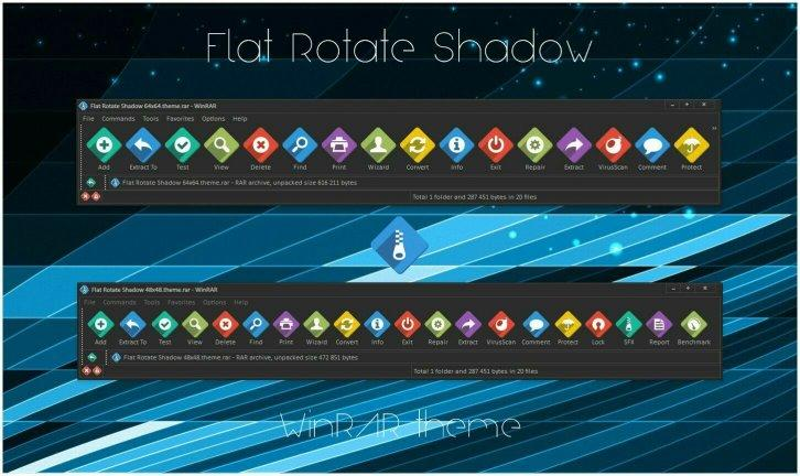 Flat RotateShadow