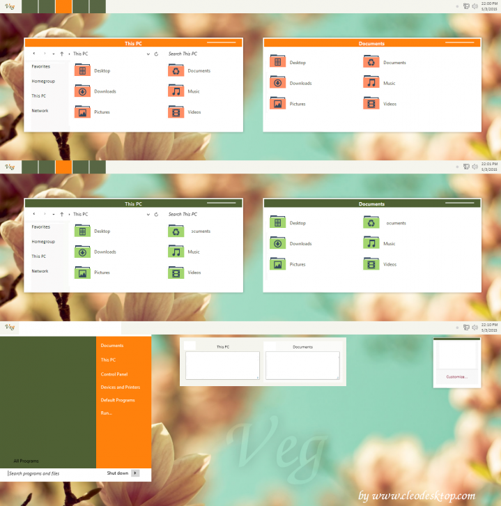 V.e.g Theme For Windows 8.1