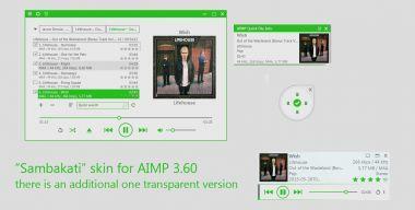 Sambakati skins for AIMP 3.60